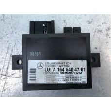 Блок контроля давления в шинах A1645404701